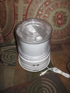 kenmore juicer. kenmore ice cream maker like new use 2 times juicer
