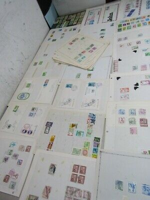 Nystamps Korea large many mint stamp collection Album page