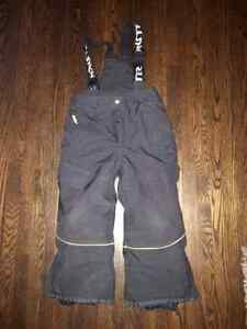 Boys Dark Grey Snow Pants Size 4