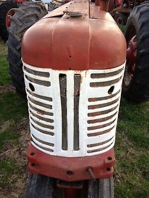 Farmall 350 Tractor Origl Factory Ih Ihc Front Nose Cone Grill Assembly Wscreen