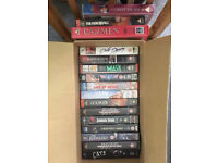 16 PRE-Recorded VHS Tapes £4 ONO