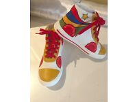 Stella McCartney Kids High Top Trainers - size 34 (1.5 UK)