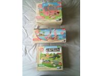 WOODEN TOY SETS BRAND NEW £15 EACH.