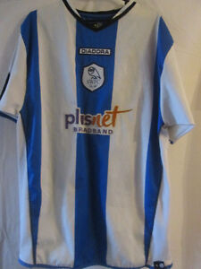 Sheffield-Wednesday-2006-JP-McGovern-Match-Worn-Football-Shirt-Size-Medium-7854