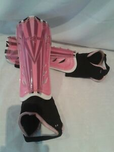 Youth-Child Pink Soccer Shin Pads