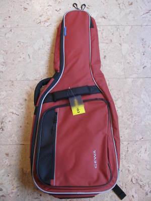 GEWA Gitarrentasche, 1/2 Größe, Economy 12, Klassikgitarre, rot