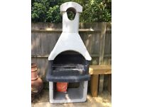 Masonry Barbeque - Only one year old - Frankfurt Model from Garden Grills Ltd