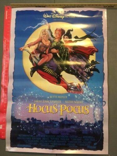 "Hocus Pocus, 27""x40"",  Bette Middler, Sara Jessica Parker, Kathy Najimy"