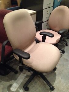 HON beige office chair - 3 available