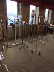 many retail items available hangers, racks & more