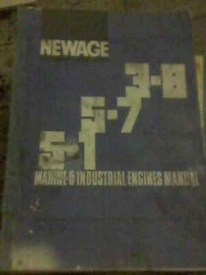 Newage marine and industrial engines manual 3.8   5.1   5.7