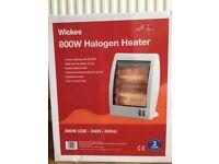 Halogen heater 800W. Brand new