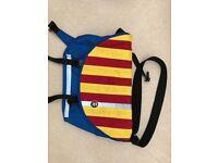 Crumpler Messenger Bag - Blue/Red/Yellow - Unused