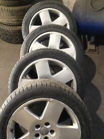 Audi-18'', Alloy Wheels &Tyres