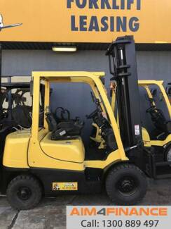 HYSTER FORKLIFT 2.5 TONNE - Finance/Rent-to-Own $94pw*