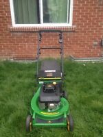 John Deere JX75 Heavy Duty Self Propelled LawnMower