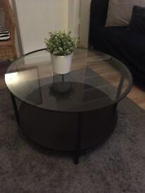 VITTSJÖ BLACK COFFEE TABLE IKEA