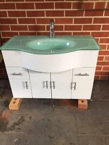 Stylish freestanding bathroom vanity and mixer tap West Croydon Charles Sturt Area Preview