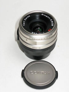 Contax Biogon T* 28mm 28 mm f/2.8 Carl Zeiss Lens for Contax G1 G2 MINT