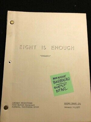1977 EIGHT IS ENOUGH TV SCRIPT