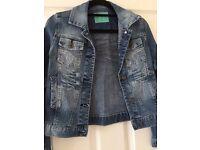Denim jacket 11-12yrs