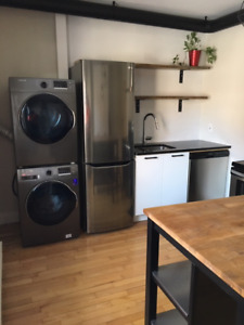 Renovated 3 and 1/2 apt close to public transportation