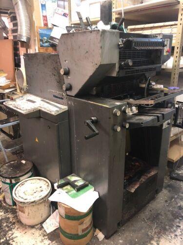 HEIDELBERG Printmater 2 color press