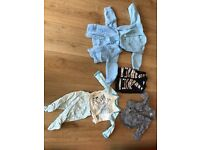 Baby Boys clothes first size and new born