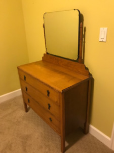 Lovely antique dresser with mirror