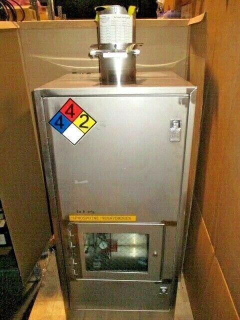 "VMB Cabinet Gas Valve Manifold Box, 22x22.5x46.5"", Swagelok, Parker, SMC, 100468"
