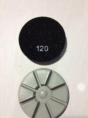 9 3 120 Grit Thick Pie Shaped Concrete Polishing Resin Diamond