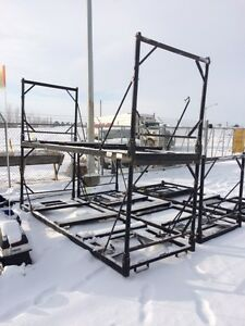 Adjustable Snowmobile Crates for storage or shipping