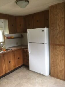 Two bedroom mobile for rent adult park. In Sayward BC.