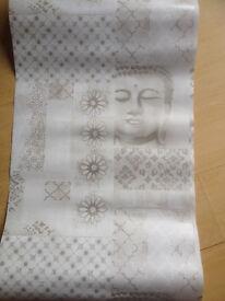 5 rolls of wallpaper