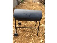 Mobile Barbeque - 2 wheels/hood £20
