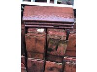 Rosemary roof and ridge tiles 2nd hand.