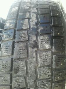 """Pair of 245/75/16"""" Studded winter tires.Lots of tread"""
