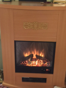 Electronics fireplace only tow mounts used