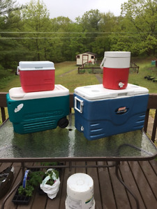 Assorted Coolers & Jugs