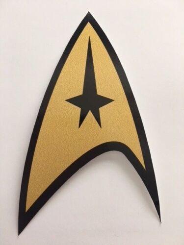 Star Trek Federation Starfleet Logo Bumper Vinyl Decal Sticker