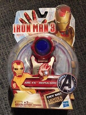 Marvel Iron Man 3 Arc Fx Wrist Repulsor Gear Avengers Initiative - NEW