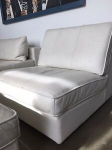 White Chair with Ottoman - Or Best offer
