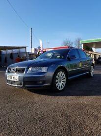 Audi A8 QUATTRO 54 plate