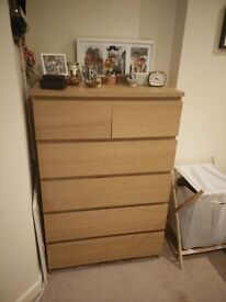 Chest of Drawers- MALM IKEA: £50
