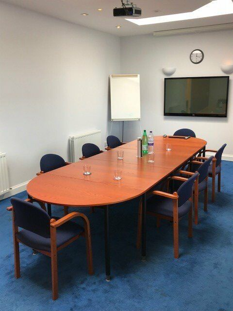 Large Office Board Table X8 Chairs In Livingston West Lothian