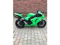 KAWASAKI ZX 1000 2007 WITH ONLY 2997 MILES SPOTLESS BIKE FIRST TO SEE WILL BUY.1 OWNER FROM NEW