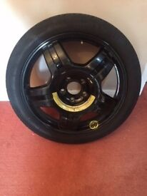 "Mercedes Space Saver 18"" Alloy Wheel with Plastic Surround etc - A2044014702"