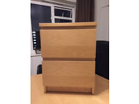 2 (two) Ikea bedside tables for free