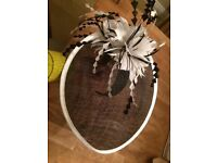 Fascinator/hat for wedding