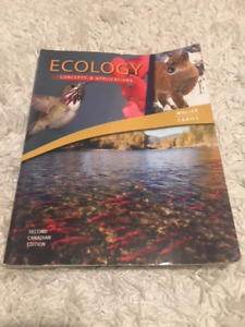 Ecology: Concepts and Applications 2nd edition